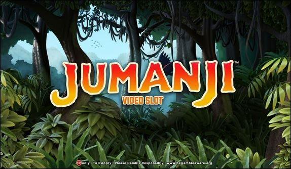 Jumanji Video Slot Review By NetEnt