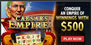 Experience the glory of Ancient Rome At Intertops Casino