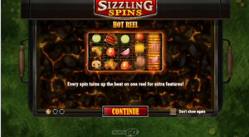 Sizzling Spins Video Slot Review By Play'n GO