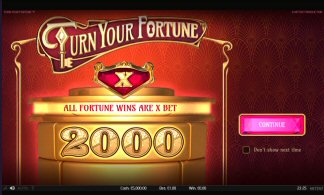 Turn Your Fortune Video Slot Review By NetEnt