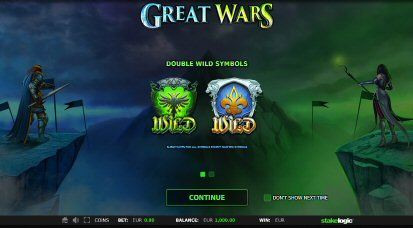 Great Wars Video Slot Review By Stake Logic