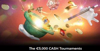 The €5,000 CASH Tournaments At MrGreen Casino