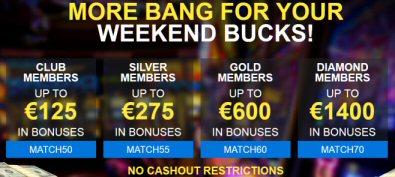 Weekend Promotions At Diamond Reels Casino