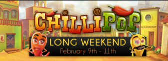 Chillipop Weekend At Vegas Crest Casino