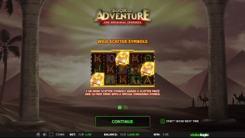 Book Of Adventure Video Slot Review By Stake Logic