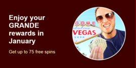 Free Spins At Grande Vegas Casino