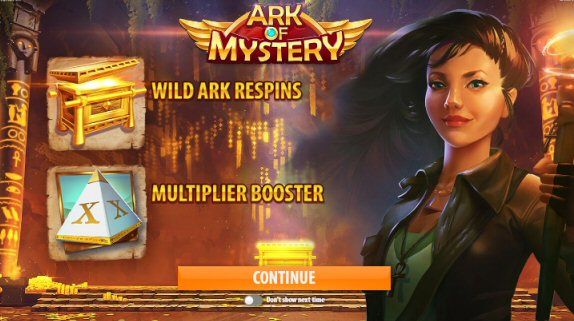 Ark Of Mystery  Video Slot Review By Quickspin