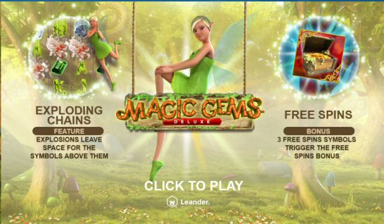 Magic Gems Deluxe Video Slot Review By Leander