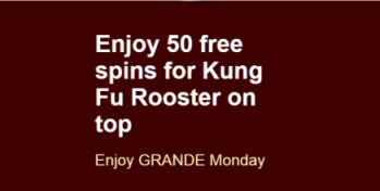 50 Grande Spins At Grande Vegas Casino