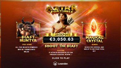 Aztar Fortunes Video Slot Review By Leander